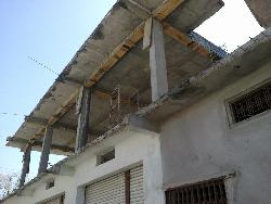 Construction Of Front part of home