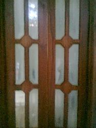 teak wood window
