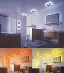 different lighting for the same room