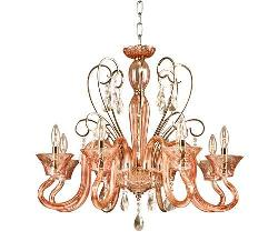 Wrought Iron Crystal Chandeliers