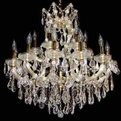 Candle Style Crystal Chandeliers