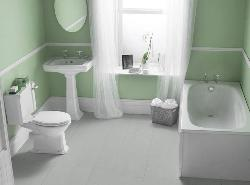 Curtain design for bathroom window