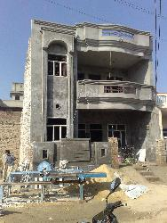 Exterior View of house under construction