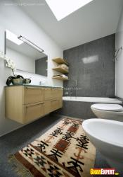 Modern bathroom design for Approximately 100 sq. ft size bathroom