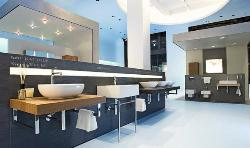Sanitary Showroom design. A very popular one