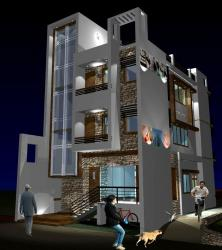 Proposed Residence cum Clinic of Dr. Indrani Singh