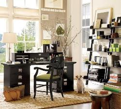 office and home room for books