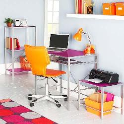 Colorful furniture for Study Room decor