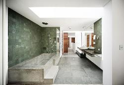 Luxury Bathroom designing and tile flooring