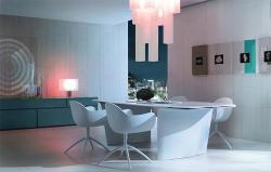 Dining Room Furniture and Wall Layout