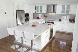White based Kitchen furniture Design idea