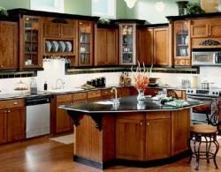 Wooden Kitchen furniture Design idea