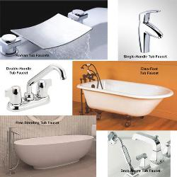 Different Designs of Tub Faucets