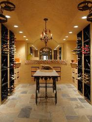 Bar cabinet with a bigger wine cellar
