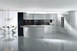 Marble flooring for Kitchen design