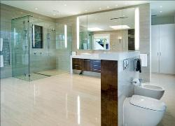 Bathroom flooring and designing