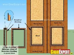 Bolection door molding