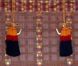 curtains for pooja room