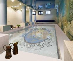 Decoration of Swimming pool area