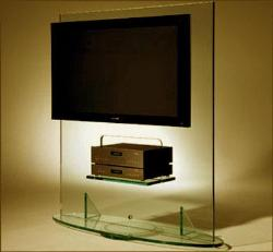 Glass lcd unit built with toughened glass