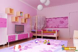 Kidsroom Looking so Fantastic in Color PINK