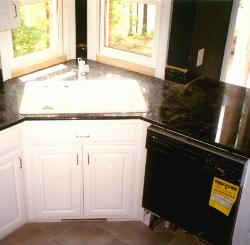 Kitchen Base Cabinet Sink Area