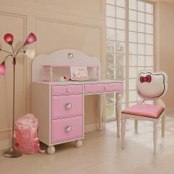kids room kitty theme furniture for girls