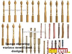 Newel post designs