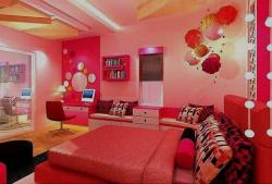 girls bedroom ideas in pink theme