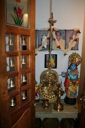 Pooja Room Door Design