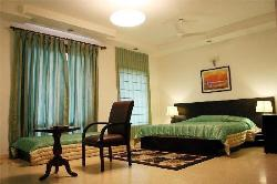 Bedroom decor and curtain design