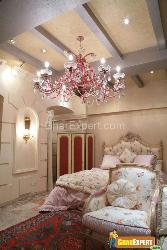 Decorative Lights in Luxrious Bedroom