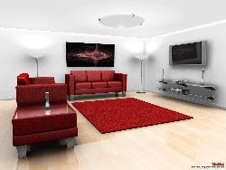 Home Theatre in Living Room