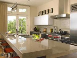 Marble Counter Top in Kitchen