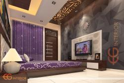 Bed Room  Design By CG Interior
