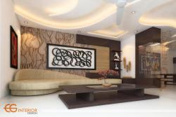 Drawing Room  Design By CG Interior