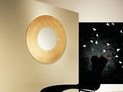 using mirror as  a decorative piece in living area