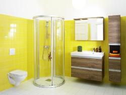 Modern Corner Bath and Bath Fixture design
