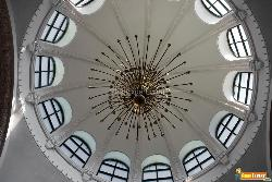 Chandelier and Skylight