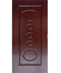 pvc door panel design with circles engraved on the door