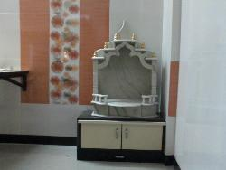 Marble Designing of Pooja room