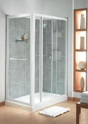 Sliding Doors in Such a Smooth Bathroom