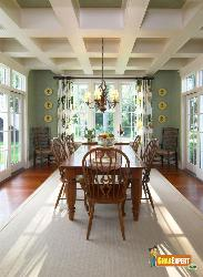 Awesome Ceiling in Dining Room