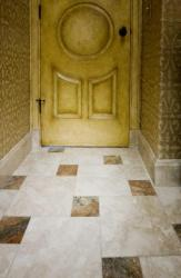marble floor tiles pattern for a doorway
