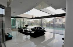 modern style large family room