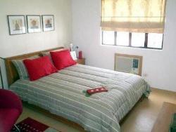 Red Grey Bed