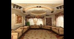 Drawing Room furniture and ceiling design