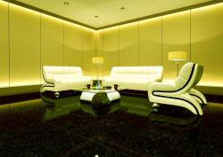modern sofa set and furniture for large living area