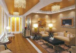 Ambani's Antilla Traditional Lounge