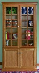 Glass Door Bookcase..